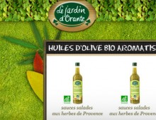 E-commerce « one page » Le jardin d'Orante