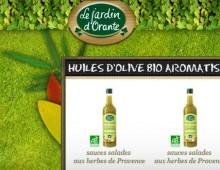 E-commerce «one page» Le jardin d'Orante