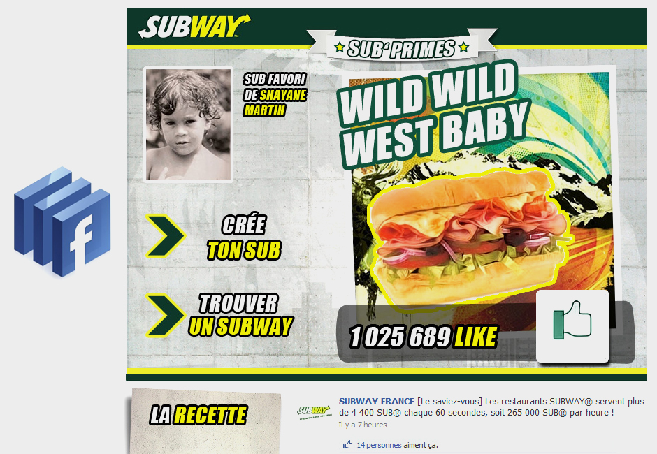 subway concept web design graphic facebook apps vote